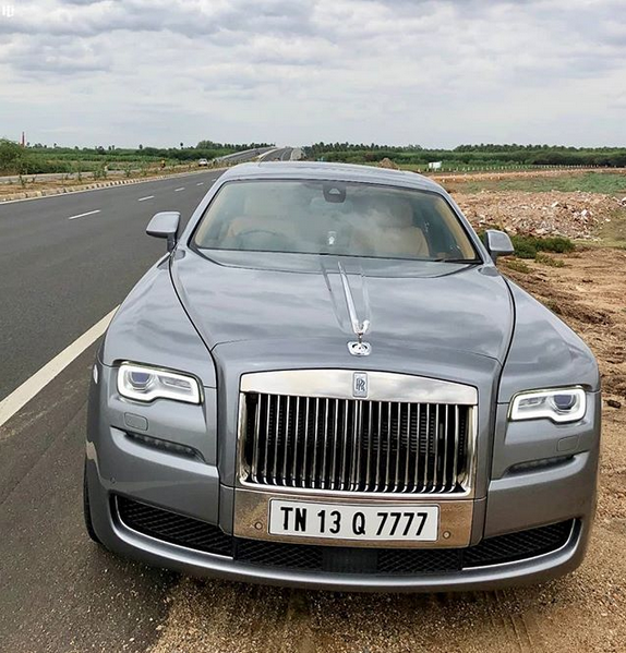 rolls royce by hottest cars in india